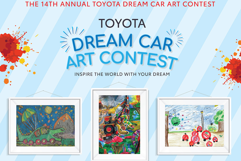 Car News | Irish finalists for Toyota Dream Car Art Contest | CompleteCar.ie