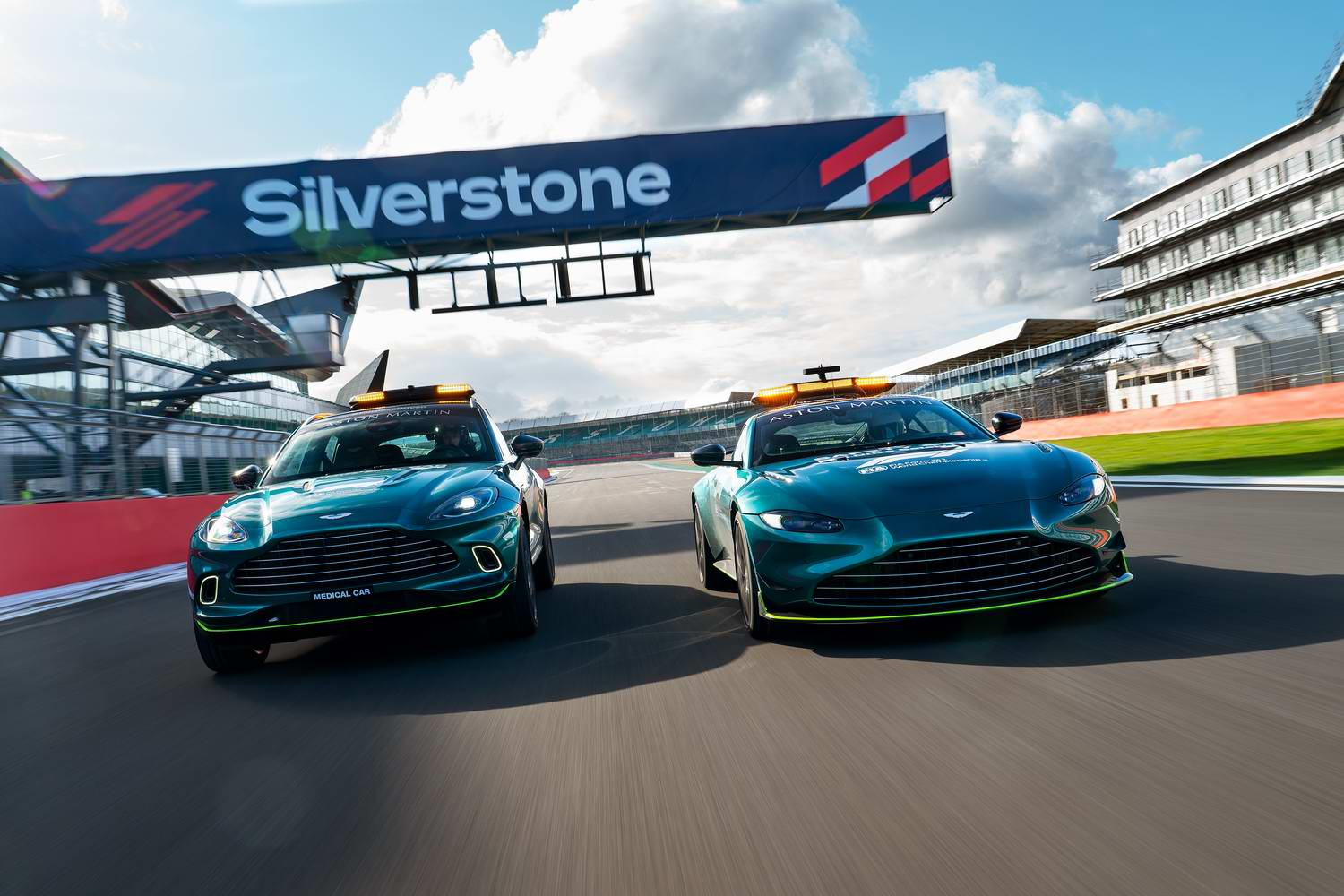Car News   Aston takes over F1 safety and medical car duties   CompleteCar.ie