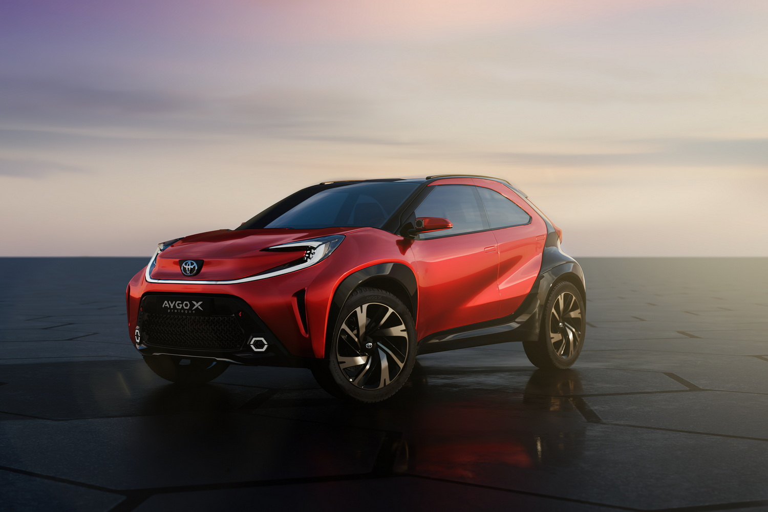 Car News | Toyota previews crossover-inspired next-gen Aygo | CompleteCar.ie