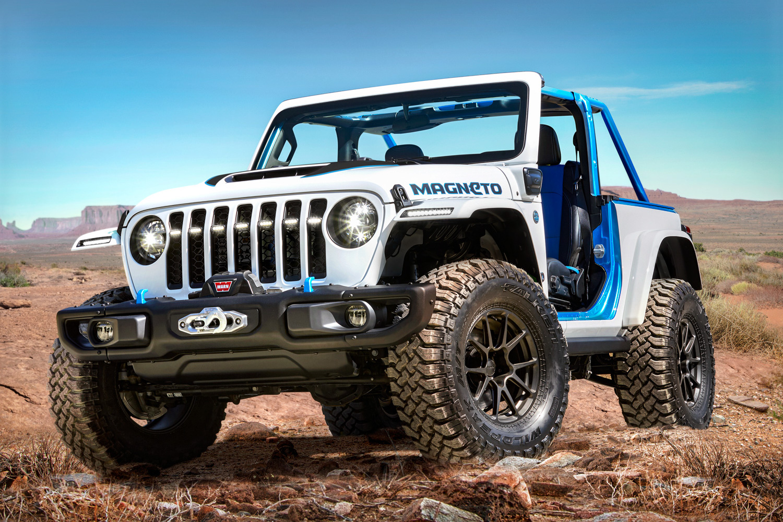 Car News | Jeep shows off electric Wrangler concept | CompleteCar.ie