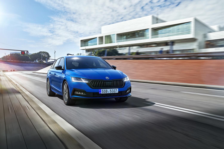 Car News   Skoda shows off Octavia Sportline   CompleteCar.ie