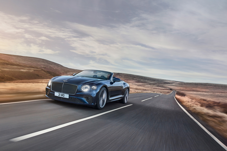 Car News   Bentley Continental GT Speed Convertible   CompleteCar.ie