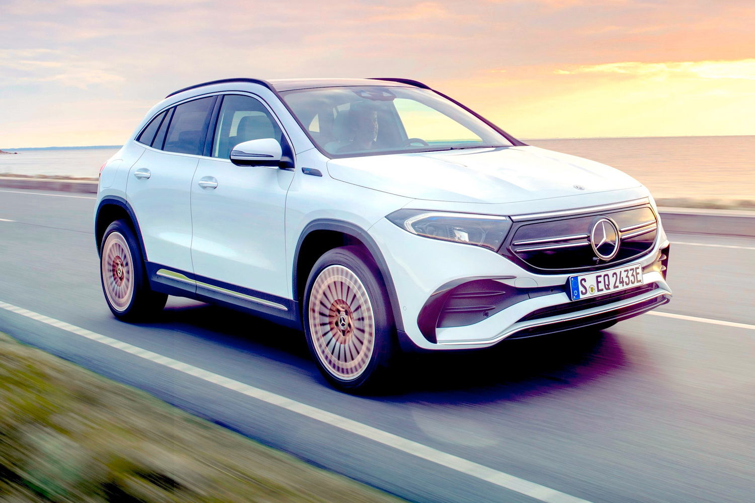 Car News | Mercedes-Benz EQA electric vehicle arrives in Ireland | CompleteCar.ie