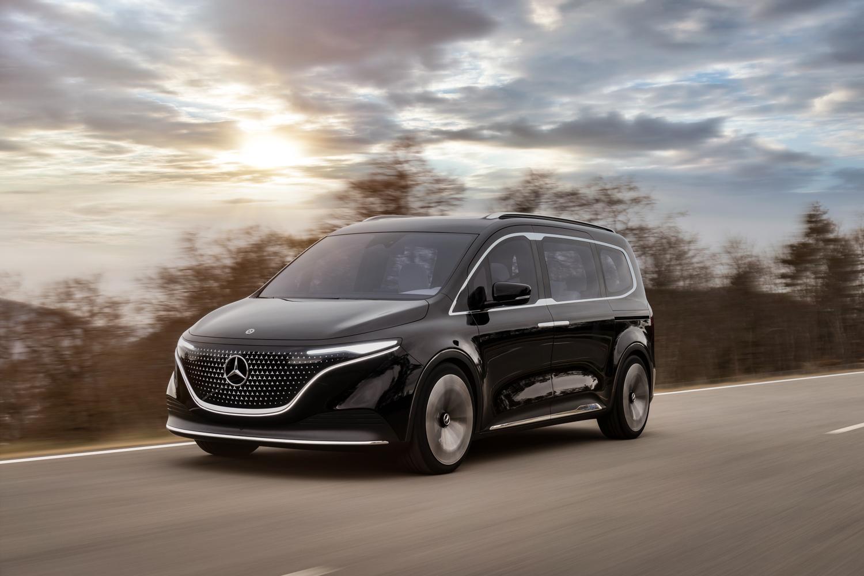 Car News | Mercedes EQT electric van concept | CompleteCar.ie