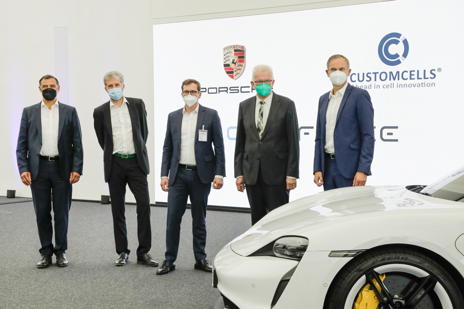 Car News   Porsche goes big on new battery factory   CompleteCar.ie