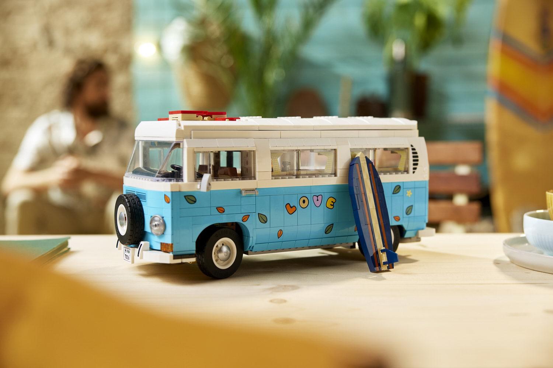 Car News | Lego Volkswagen T2 Camper Van revealed | CompleteCar.ie