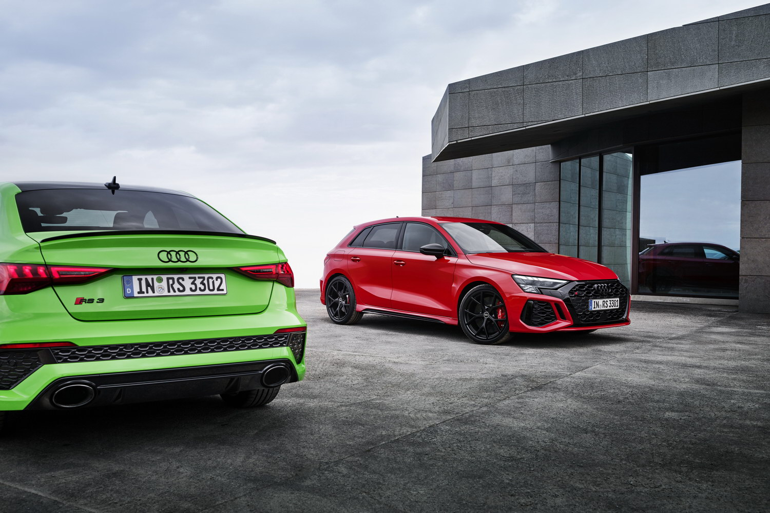 Car News | New Audi RS 3 twins revealed with 400hp | CompleteCar.ie