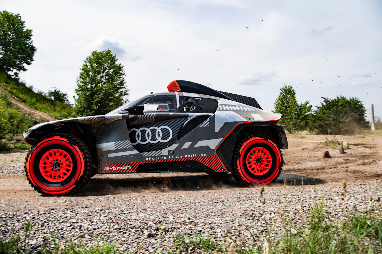 Car News | Audi RS Q e-tron Dakar racer | CompleteCar.ie