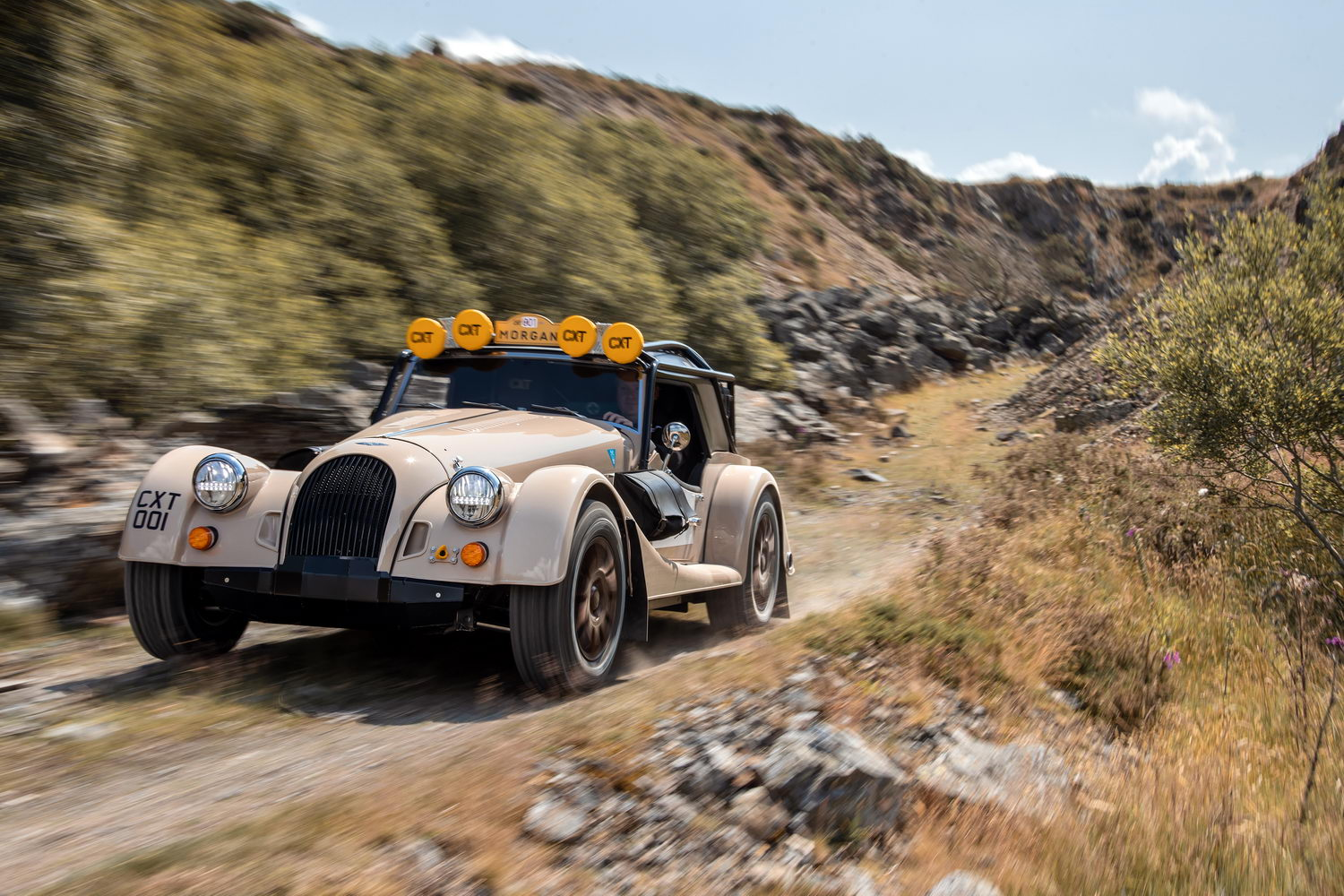 Car News   Morgan Plus Four goes off-road as CX-T   CompleteCar.ie