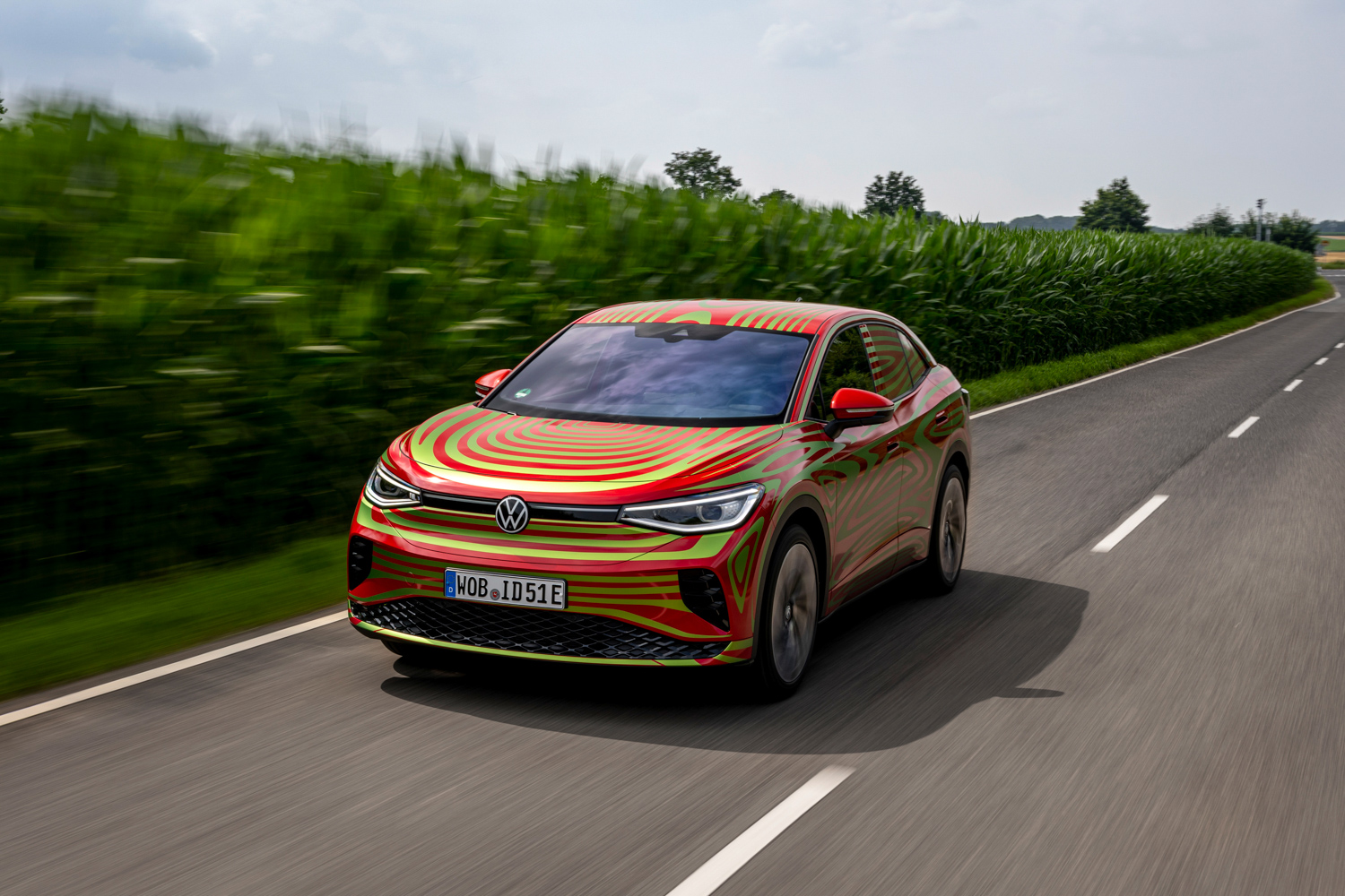 Car News   Volkswagen ID.5 GTX electric SUV-coupe   CompleteCar.ie