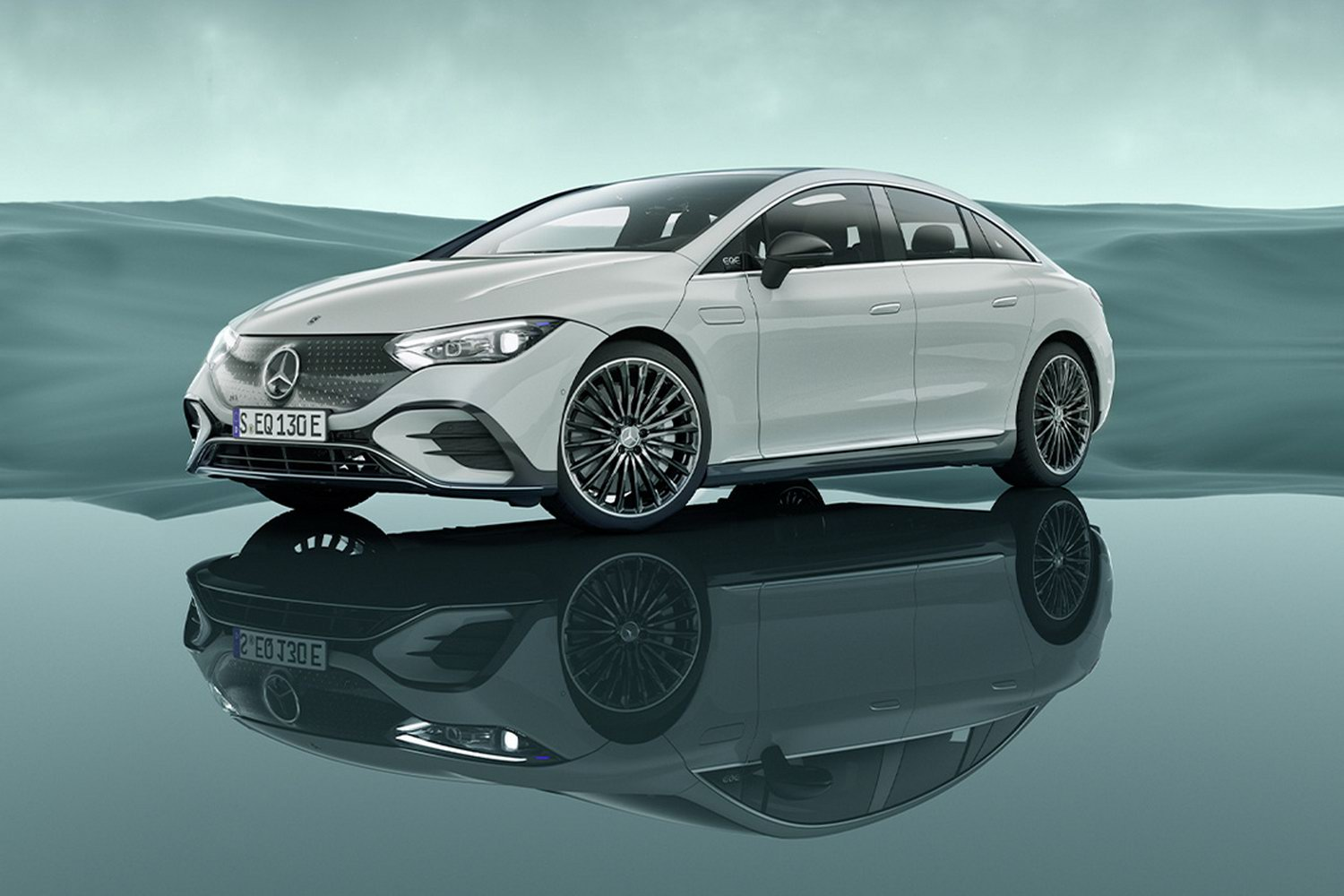 Car News | Mercedes EQE is new electric E-Class of 2022 | CompleteCar.ie