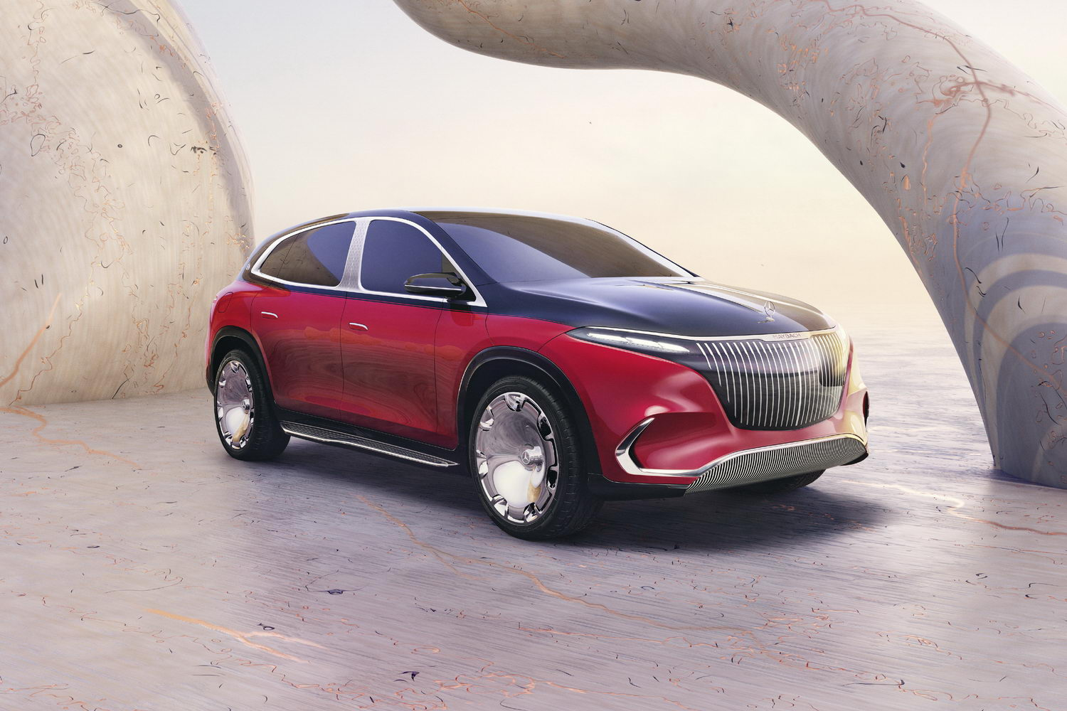 Car News | Maybach reveals EQS electric SUV concept | CompleteCar.ie