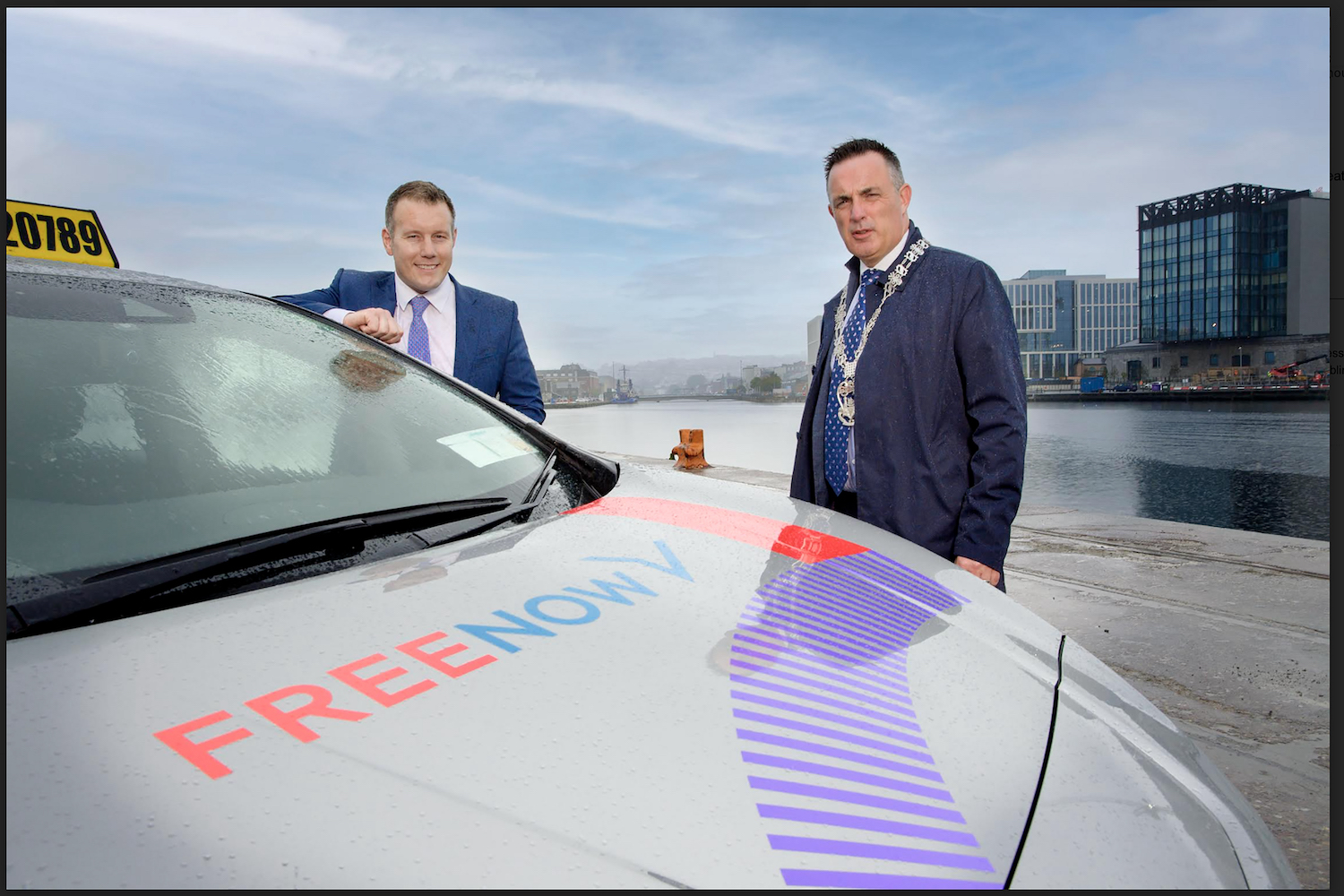 Car News | Free Now expands EV bookings to Cork, Limerick, and Galway | CompleteCar.ie
