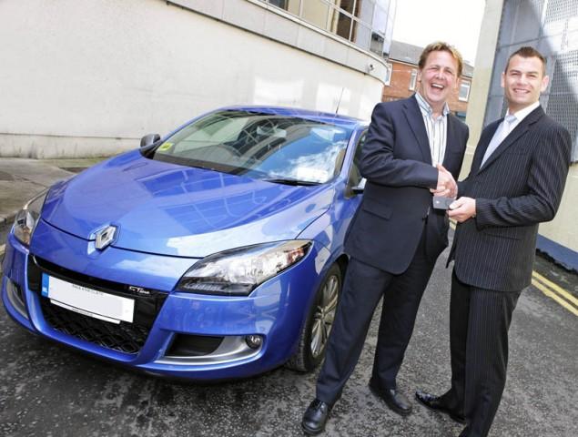 Car News | Ian Dempsey gets a new Renault Mégane | CompleteCar.ie