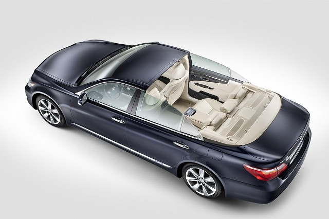 Car News | Lexus unveils royal LS | CompleteCar.ie