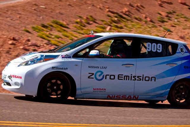Car News | Electric Nissan scales Pikes Peak | CompleteCar.ie
