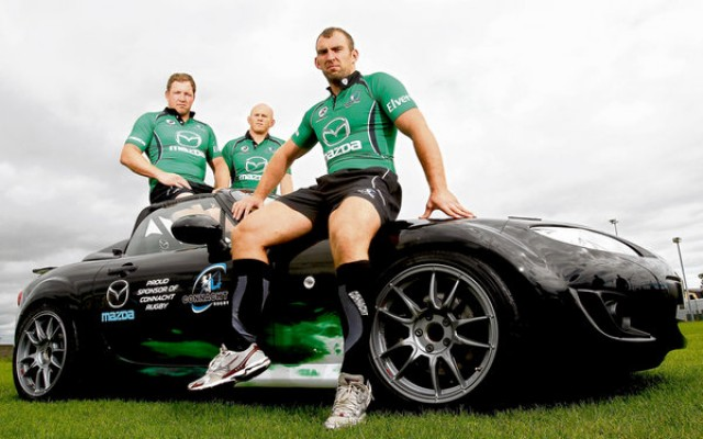 Car News | Mazda are the new sponsor of Connacht Rugby | CompleteCar.ie