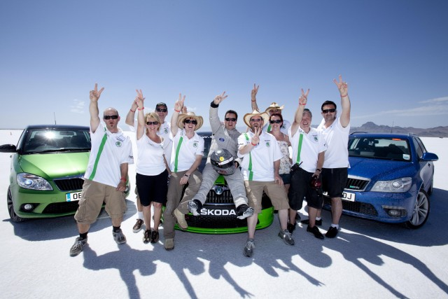 Car News | Skoda aims for speed record | CompleteCar.ie