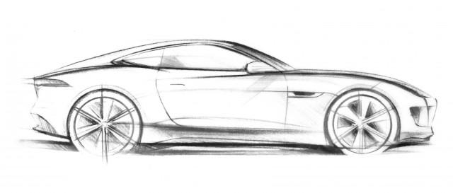 Car News | New Jaguar concept car sketch | CompleteCar.ie