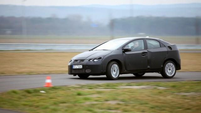 Car News   Honda promises quieter new Civic   CompleteCar.ie