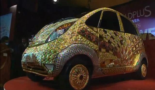 Car News   Gold Tata 'worth' €3.45 million   CompleteCar.ie