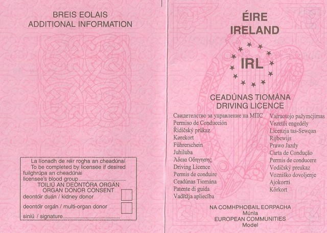 Car News | High-tech driving licences by 2013 | CompleteCar.ie