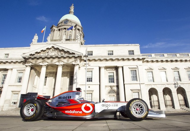 Car News   Jenson Button to race in Dublin   CompleteCar.ie