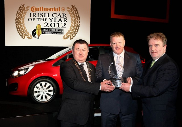 Car News | Kia Rio is Irish Car of the Year 2012 | CompleteCar.ie