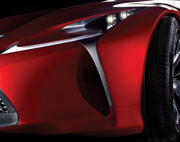 Car News   Lexus goes sexy at Detroit Auto Show next year   CompleteCar.ie