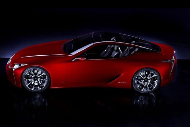 Car News | Lexus LF-LC coupé revealed ahead of Detroit unveiling | CompleteCar.ie