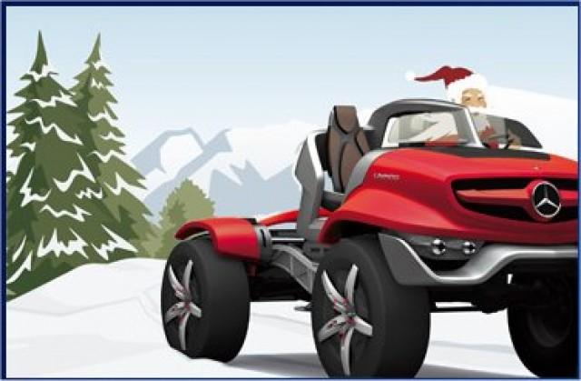 Car News | Exclusive image of Santa's weekend car | CompleteCar.ie