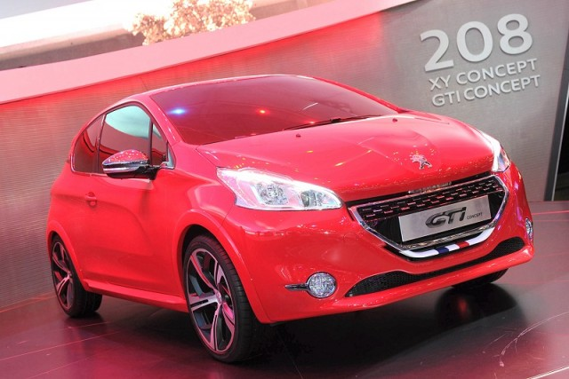 Geneva 2012 Review Peugeot 208 Gti Concept Car And Motoring News