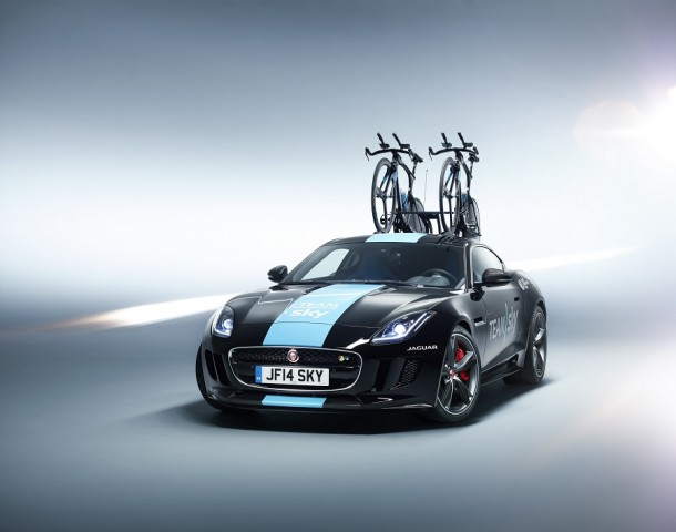 Car Industry News | F-Type Coupé supports cycling team | CompleteCar.ie