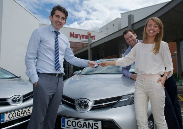 Car Industry News | Toyota dealer supports Marymount Hospice | CompleteCar.ie