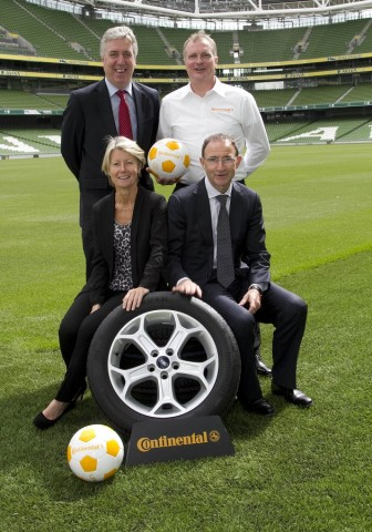 Car Industry News | Continental to partner Women's Football in Ireland | CompleteCar.ie
