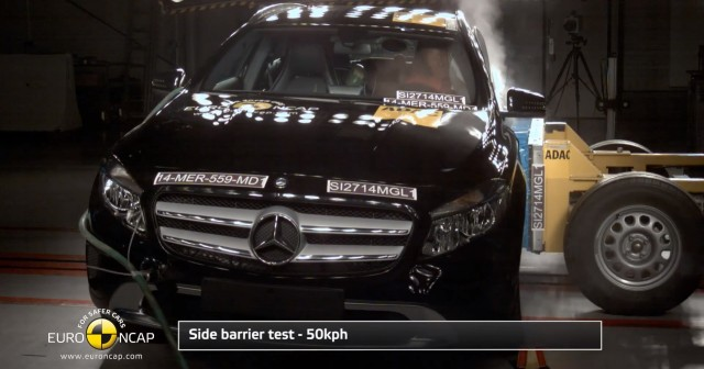 Car Industry News | Mercedes-Benz GLA is a five-star car | CompleteCar.ie