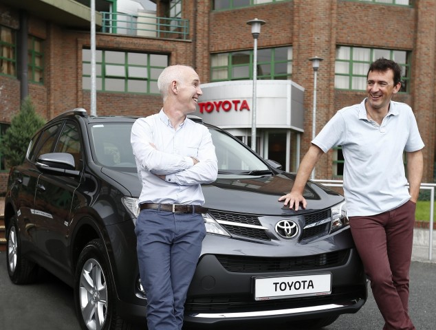 Car Industry News | Toyota joins forces with Ray D'Arcy Show | CompleteCar.ie