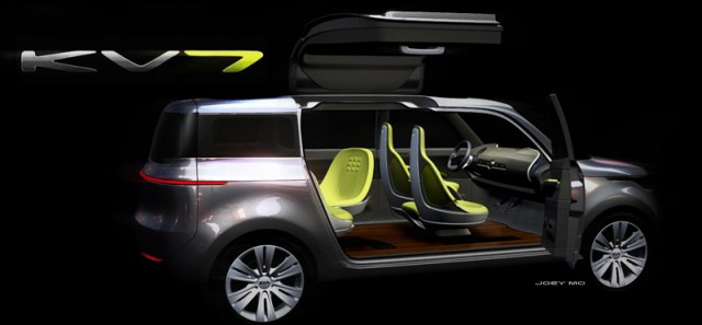 Car News | Kia to unveil KV7 concept car in Detroit | CompleteCar.ie
