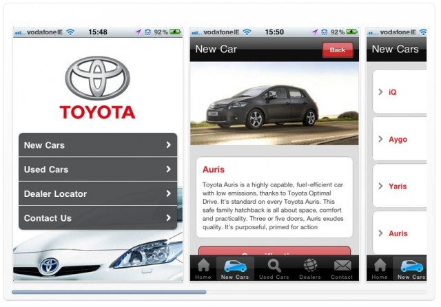 Car News | Toyota Ireland launches iPhone app | CompleteCar.ie