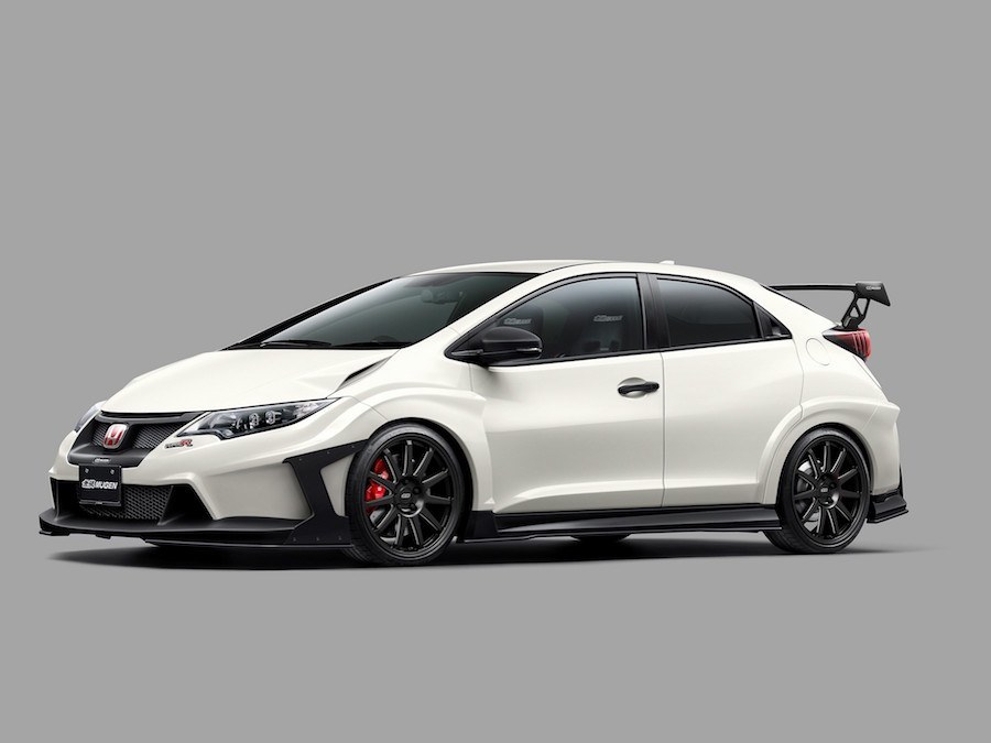 mugen and modulo style up honda civic type r car and. Black Bedroom Furniture Sets. Home Design Ideas