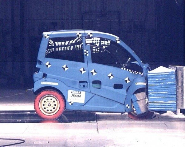 Car News | Radical city car passes crash test | CompleteCar.ie