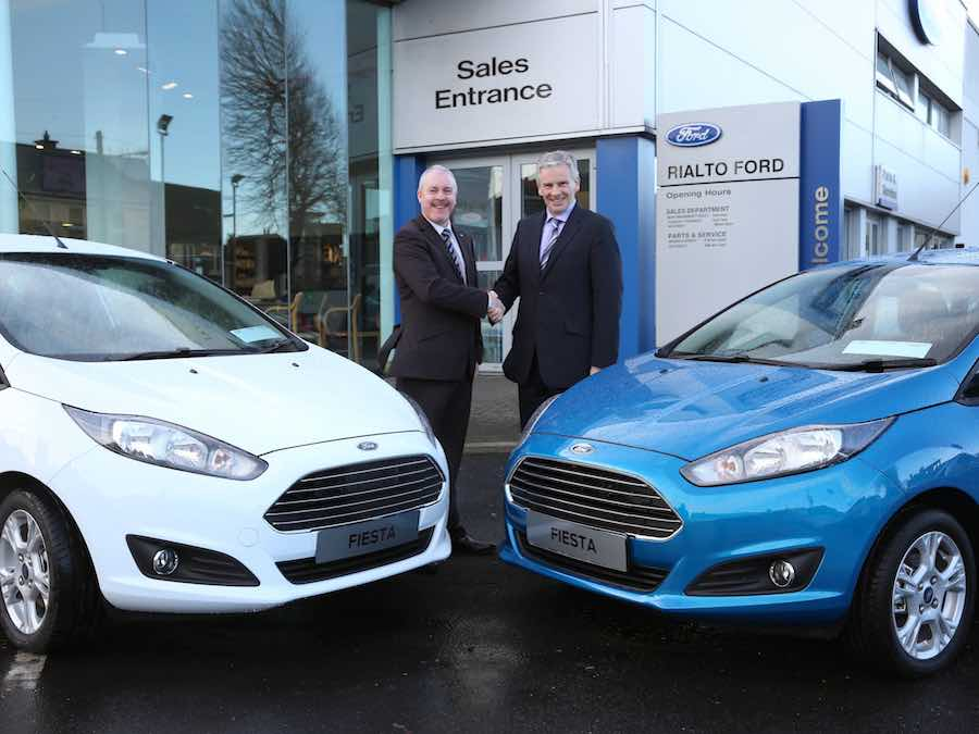 Ford supports The Care Trust with big car giveaway - car and