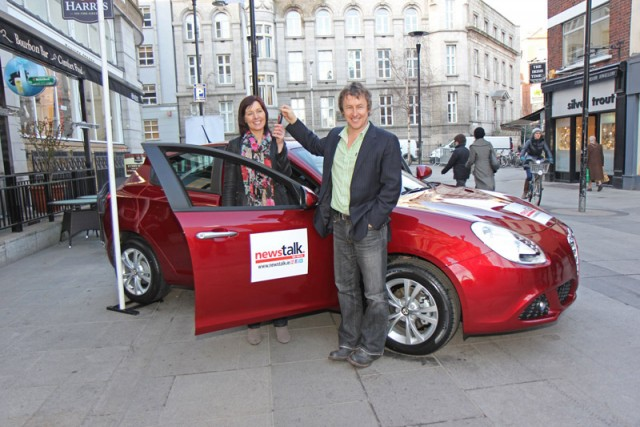 Car News | Carmel Hannon wins new Alfa Romeo in Newstalk competition | CompleteCar.ie