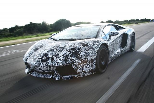 Car News   Best shot yet of new Lamborghini   CompleteCar.ie