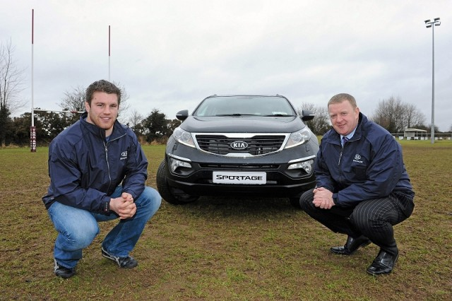 Car News | Sean O'Brien signs for Kia | CompleteCar.ie