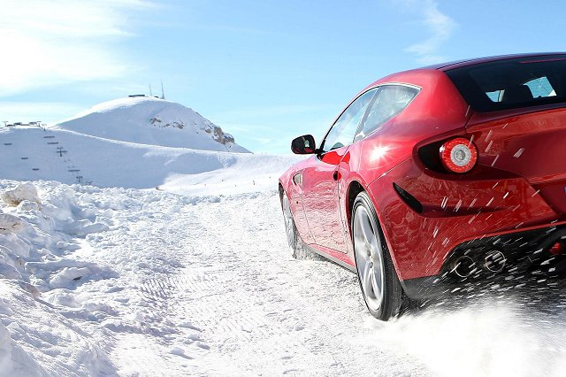Car News | Ferrari FF in the snow | CompleteCar.ie