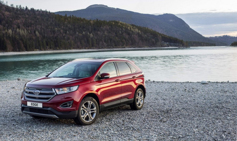 Ford Edge Suv Arrives In Ireland Ford Edge Suv Arrives In Ireland