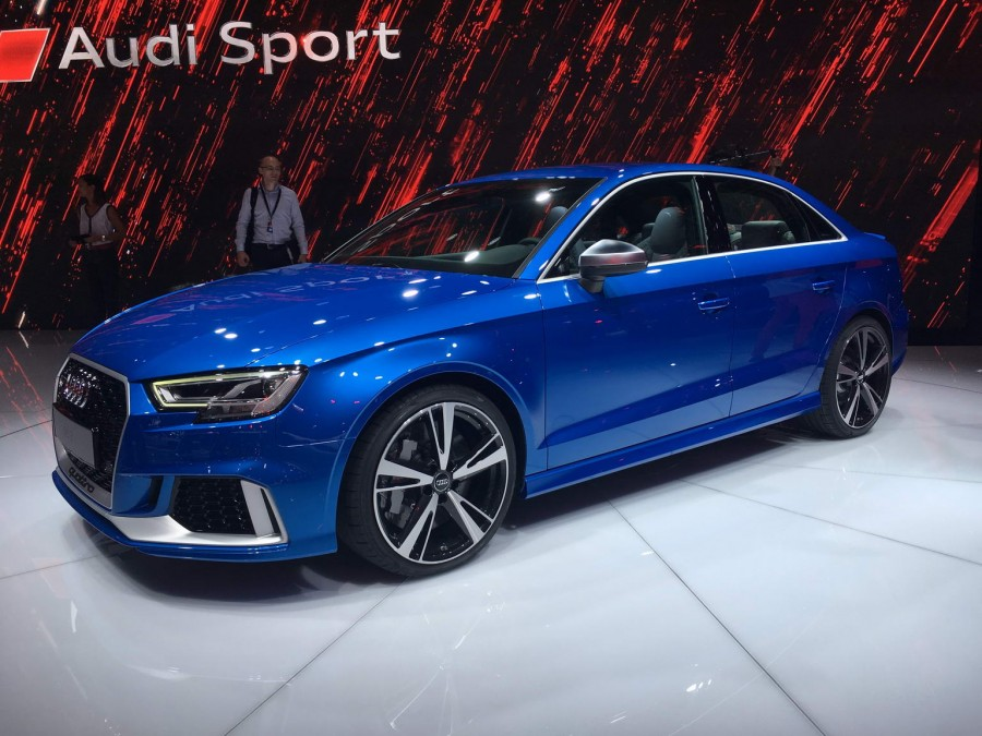 Audi Rs 3 Saloon Breaks Out At Paris Motor Show Car And Motoring
