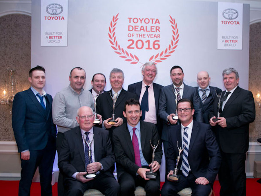 toyota ireland annual dealer of the toyota long mile