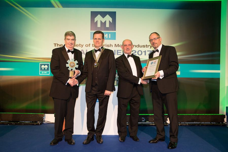 Car Industry News | CAB Motor Company wins top industry award | CompleteCar.ie